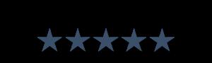 Fünf Sterne Kundenbewertung
